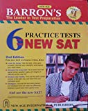 Barrons 6 Practice Tests for the New SAT