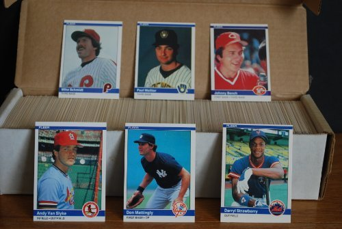 1984-fleer-complete-baseball-set-660-cards-don-mattingly-rookie-darryl-strawberry-rookie-ryne-sandbe