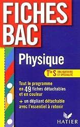 Physique Tle S : Enseignement obligatoire et enseignement de spécialité