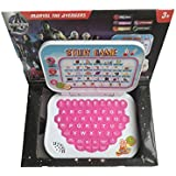 Rey N Ran Educational Learning Kids Laptop, Study Game Kids Mini Laptop English Learner Study Game Computer Notebook Toy (Avengers)