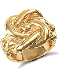 Londres Jewelco 9ct oro sólido de peso medio caballo zapato anillo BtsXLH