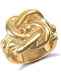 Londres Jewelco 9ct oro sólido de peso medio caballo zapato anillo