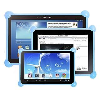 Tablet hülle tablethülle hülle für Tablet kompatibel mit Tablets in jeder Größe kompatibel mit allen Tablets des Marktes (Hellblau)