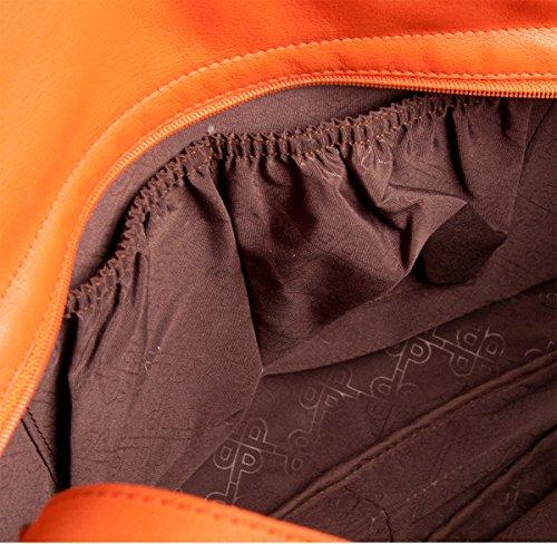 Picard Larvotto Beuteltasche Tasche 4214 Damen Shopper Handtasche 38x28x9 cm (BxHxT), Farbe:Anthrazit Anthrazit