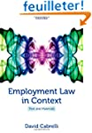 Employment Law in Context: Text and M...