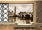 AG Design – Papiers Peint Photo – Londres – Tapisserie Photo – Poster Photo géant – 360x254 cm – 4 lés – FTS 0480