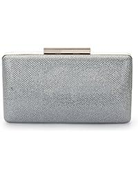 d875c2df68dc2 Suchergebnis auf Amazon.de für  clutch silber glitzer - Handtaschen ...