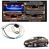 #6: Vheelocityin Blue Light Car Tail Lamp Strip With Red Backlight And Flowing Indicators For Maruti Suzuki Ciaz