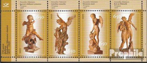 Prophila Collection Estland Block23 (kompl.Ausg.) 2005 Adamson (Briefmarken für Sammler) Skulpturen -
