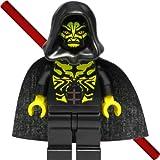 LEGO Star Wars Figur Savage Opress (Sith, Zabrak) mit Doppellaserschwert und schwarzem Umhang