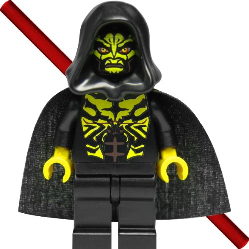 LEGO Star Wars Figura Savage opress (Sith, zabrak) con doble Espada láser y capa negra