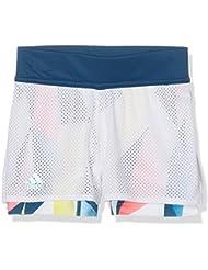 Adidas G Pro Short–Pantalon court pour filles, blanc