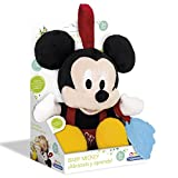 Mickey Mouse Disney Peluche con mordedor (Clementoni Spain 65408.6)