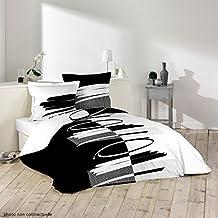 Funda para edredón (algodón, 260x 240cm + 2fundas de almohada de elíptica