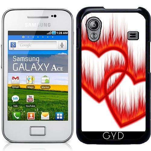 Hülle für Samsung Galaxy Ace (GT-S5830) - Herz Liebe Valentin Hochzeit by WonderfulDreamPicture