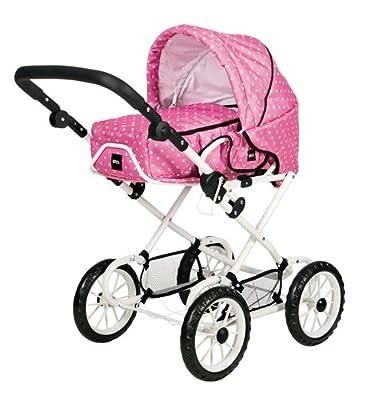 Brio 24890331 - Coche de paseo modulable para muñecas, color rosa de BRIO