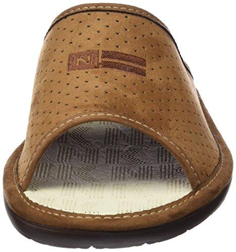 Pantofole Nordika Mens 3114 Marrone