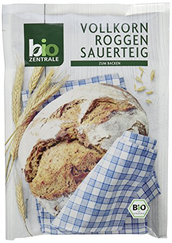 biozentrale Vollkorn Roggen Sauerteig, 10er Pack (10 x 100 g)