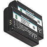 2x Minadax® qualitaets Batterie avec véritable 1000mAh pour samsung NX5, NX10, NX11, NX20, NX100, comme BP-1310–Système de batterie intelligent avec puce