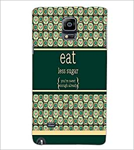 PrintDhaba Quote D-2780 Back Case Cover for SAMSUNG GALAXY NOTE 2 (Multi-Coloured)