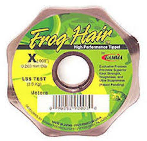 Frosch Haar Tippet / Vorfachmaterial 25M 021-52.9lb - Fliegenfischen -