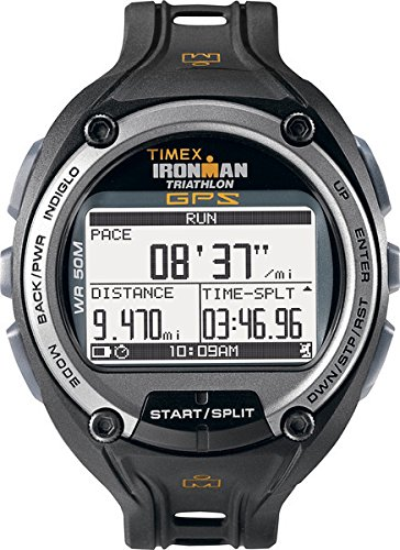 Timex Herren-Armbanduhr XL Ironman Global Trainer Digital Kautschuk T5K267 (Timex Ironman Trainer)