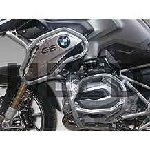 Defensa protector de motor Heed BMW R 1200 GS LC (13-16) Full Bunker Exclusive - plata