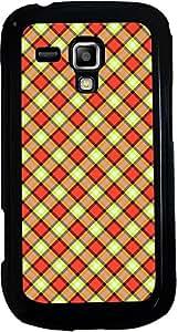 PrintVisa 2D-SGS3Mini-D7934 Pattern Checks Design Case Cover for Samsung Galaxy S3 Mini I8190