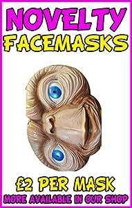 Et Novelty Celebrity Face Mask Party Mask Stag Mask