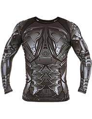 Dirty Ray Arts Martiaux Predator t-shirt manche longue rashguard homme RG5LS