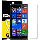 Panzerglasfolie Schutzfolie für Nokia Microsoft Lumia 830, NEWC® Tempered Glass 9H Hartglas, Anti Öl, Kratzen und Fingerabdrücke Blasenfrei, HD Displayschutzfolie, 0.33mm HD Ultra-klar für Nokia Microsoft Lumia 830