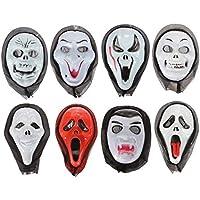 easyshop Halloween maschera mascherata orrore del diavolo con il cappuccio 8 stili