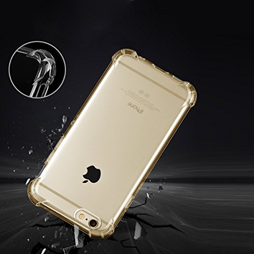 "xhorizon [Ultra Hybrid] [Air Cushion] Shock-Absorption Stoßfänger und Anti-Scratch Clear Zurück Ultra-schlanke Schutz-Clear Cover mit versteckten Card Slot für iPhone 6 Plus/iPhone 6S Plus[5.5""] #3"