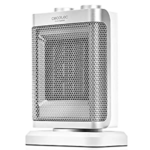 Cecotec Ready Warm 6100 Ceramic Rotate – Calefactor Cerámico Oscilante, 3 Modos, Termostato Regulable, Sistema…