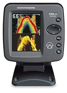 Sondeur Echo Radar Pêche FF346c Di Down Imaging, Sonde Tableau Arrière & Température