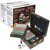 #1 Best Poker Chip Set (Mahogany) - 500 Chips