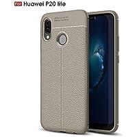 Shinyzone Weich TPU Silikon Zurück Hülle für Huawei P20 Lite,Ultra Dünn Flexibel [Grau] Litschi Textur Muster... preisvergleich bei billige-tabletten.eu