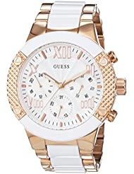Guess Damen-Armbanduhr Analog Quarz Edelstahl W0770L2
