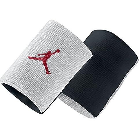 Nike Jordan Jumpman Polsino - Multicolore (Bianco/Nero/Gym Red) - Taglia Unica - Red Jogger