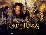 """Il Signore degli Anelli-Il ritorno del re 27,94 43,18 cm x (11""""), 28 x 17 x 44 cm, motivo: Film Poster"""