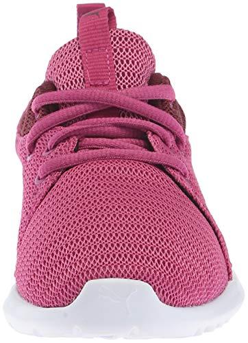 PUMA Girls  Carson 2 Sneaker  Magenta Haze-fig White  3 M US Little Kid
