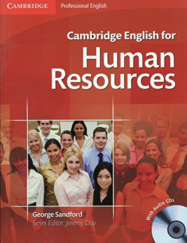 Cambridge English for Human Resources Student's Book with Audio CDs (2) por George Sandford
