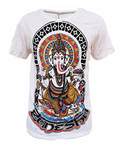 Yoga Shirts Omtimistic Mens Casual Ganesh Graphic Tee