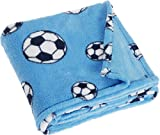 Playshoes 301702-75 Fleece, Babydecke, M, blau