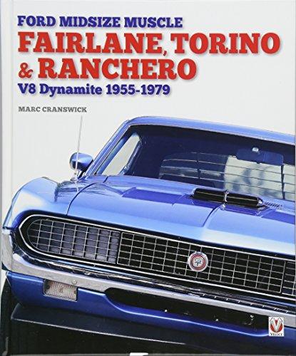 Ford Midsize Muscle - Fairlane, Torino & Ranchero: V8 Dynamite 1955-1979 Cougars-laser