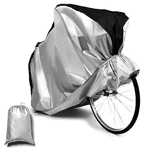 Fahrrad Abdeckung Hltd XL 190T Extra Heavy Duty-Wasserdichte Regen Abdeckung Lagerung Fahrrad Staubschutz für Outdoor Mountainbike, Rennrad