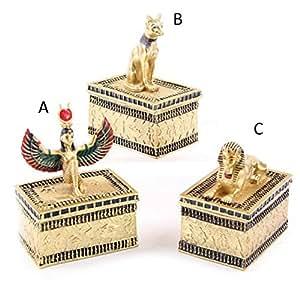 Décos Du Monde - Boites à bijoux figurines Egyptiennes