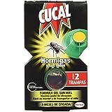 [Pack de 5] CUCAL Trampa Hormigas 2 unidades
