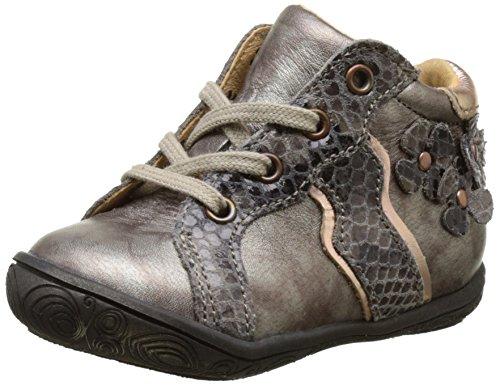BabybotteAnelou - Pantofole a Stivaletto Bambina , marrone (Marrone (Taupe)), 21 EU