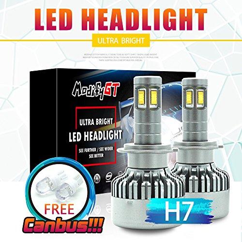 H7 LED HeadLight Kit, 110 W Seoul CSP Chips 12000LM H7 Kit conversione LED Lampadina faro Conversione Alogena Light Canbus 6500K 12V-36V